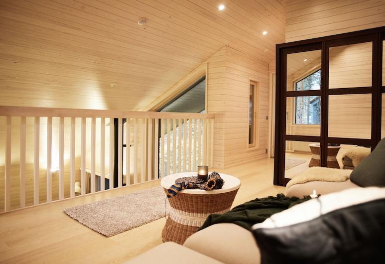 Nova Skyland Hotel, Rovaniemi, Luxury Nordic Cottage, Living Area
