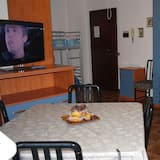 Casa City, 1 camera da letto, non fumatori, vista città - Area soggiorno