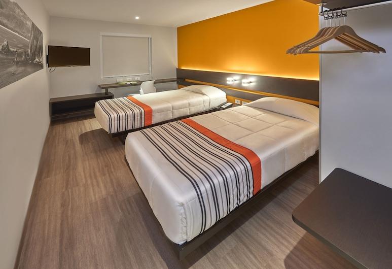 City Express Junior León Centro de Convenciones, León, Habitación estándar, 2 camas individuales, Habitación