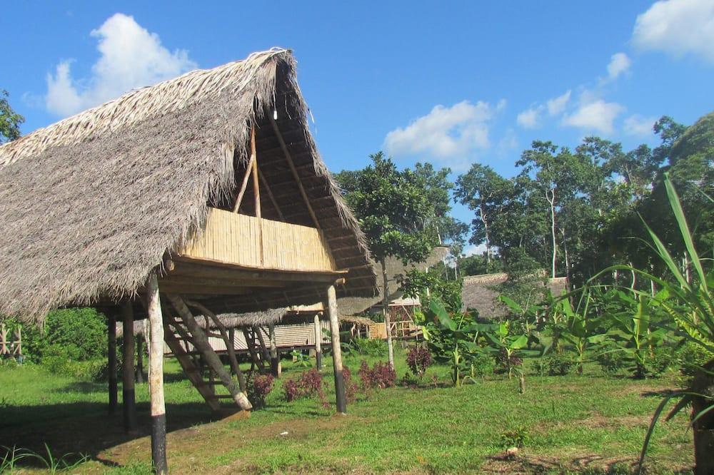 Kabin Tradisional, 1 Tempat Tidur King, pemandangan sungai - Kamar