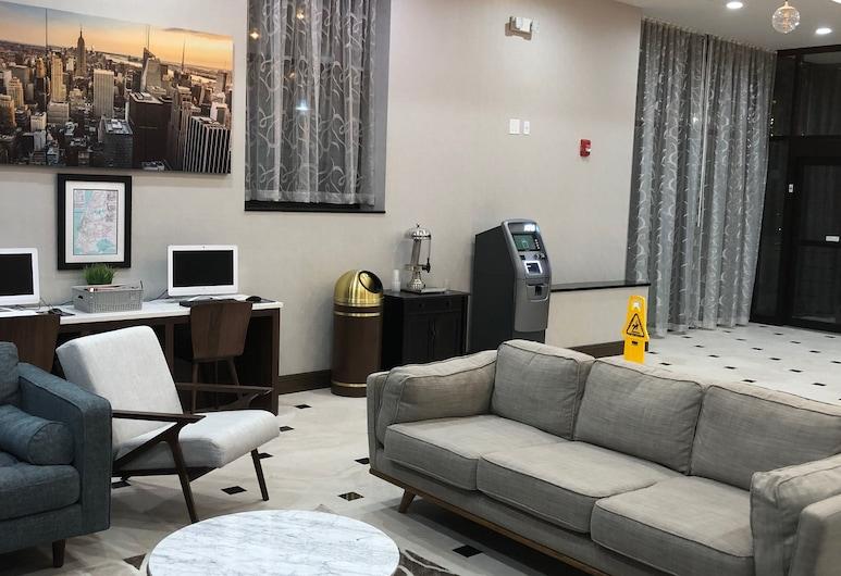 Hotel Nirvana, Long Island City, Interior Entrance