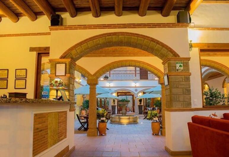 Maria Bonita Hotel, Villa de Leyva, Salon de la réception