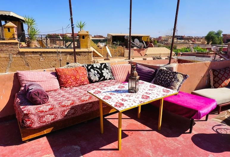 基夫基夫青年旅舍, 馬拉喀什, 陽台