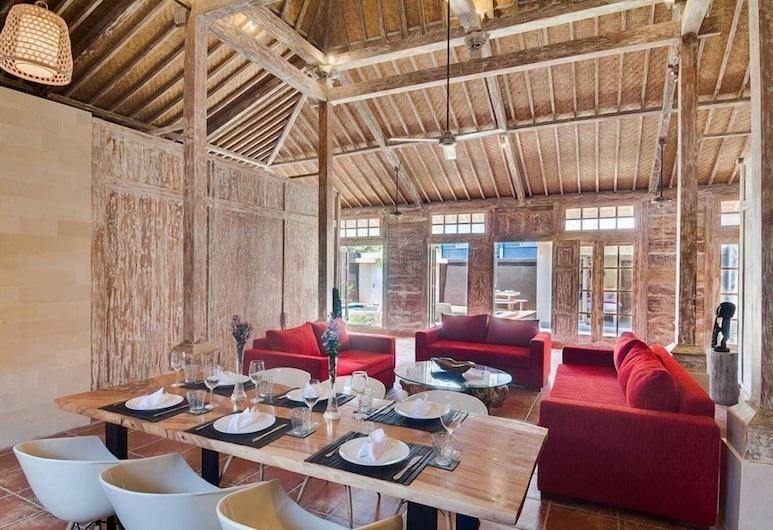 Joglo Villa, Seminyak, Vila, 3 quartos, Piscina particular, Área de estar