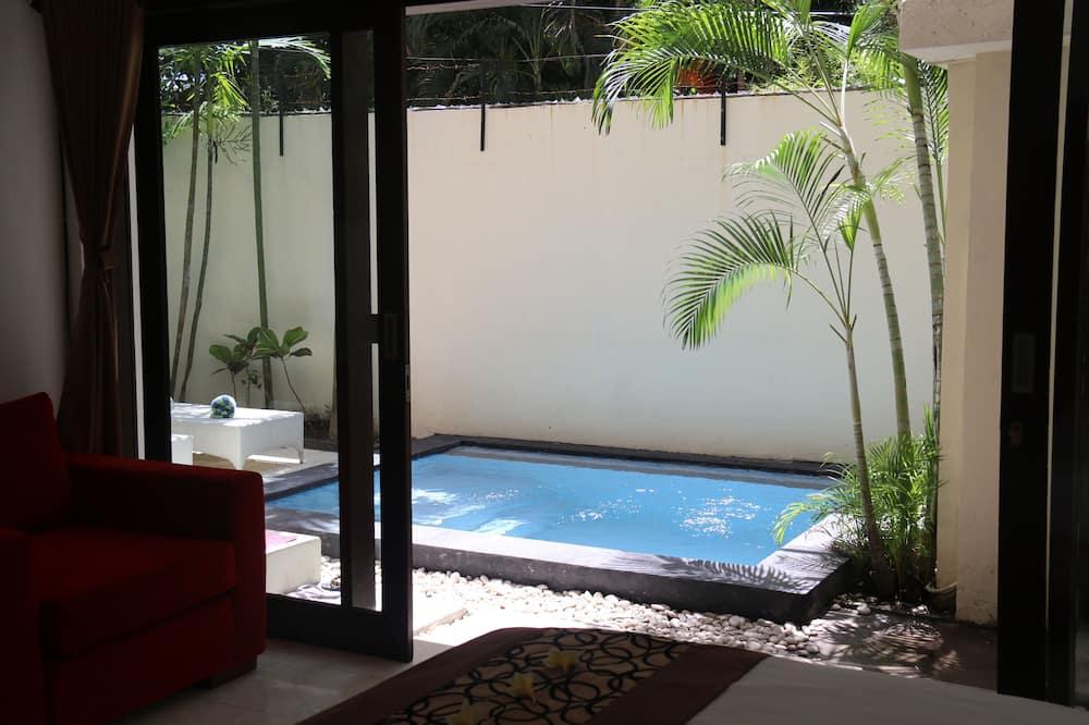 Villa, 2 Yatak Odası, Kişiye Özel Havuzlu - Açık Yüzme Havuzu
