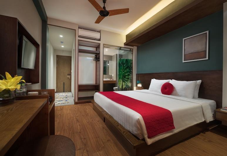 The Art classic hotel & Spa, Hanoi, Honeymoon suite, 1 kingsize bed, Uitzicht op de stad (Long Quan), Kamer