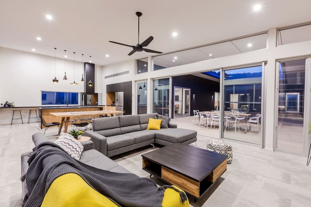 Casa de lujo, 6 habitaciones, vista al campo de golf - Sala de estar