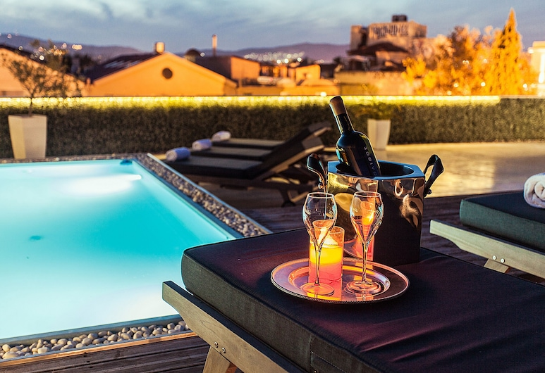 安朵美達市中心套房酒店, 雅典, 泳池