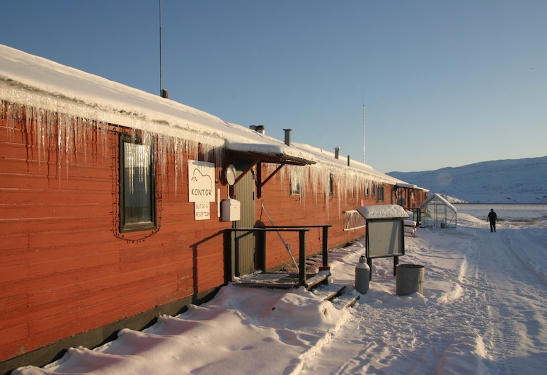 Old Camp, Kangerlussuaq, Hotel Front