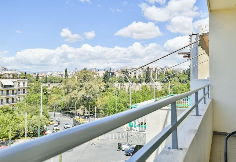 Athens Way Lofts, Atény, Apartmán (Acropolis View-4th Floor), Balkón
