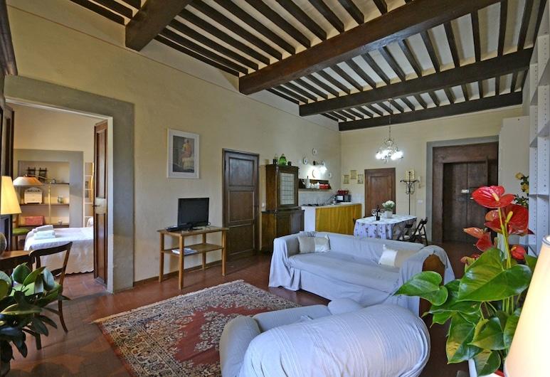 Appartamento Loggetta, Cortona, Apartamentai, 1 miegamasis, Svetainės zona