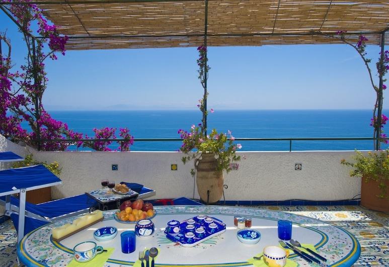 La Conca, Conca dei Marini, Appartamento, 1 camera da letto, terrazzo, vista mare, Terrazza/Patio