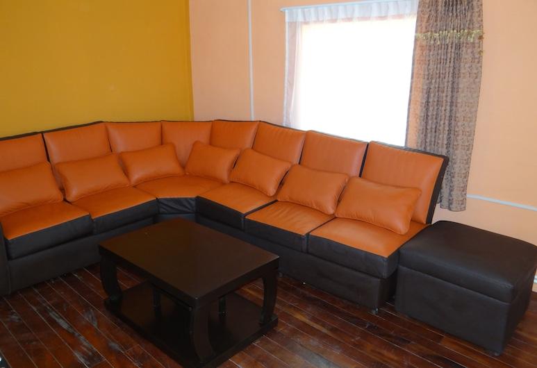 Paitití Hostel, La Paz, Sitzecke in der Lobby