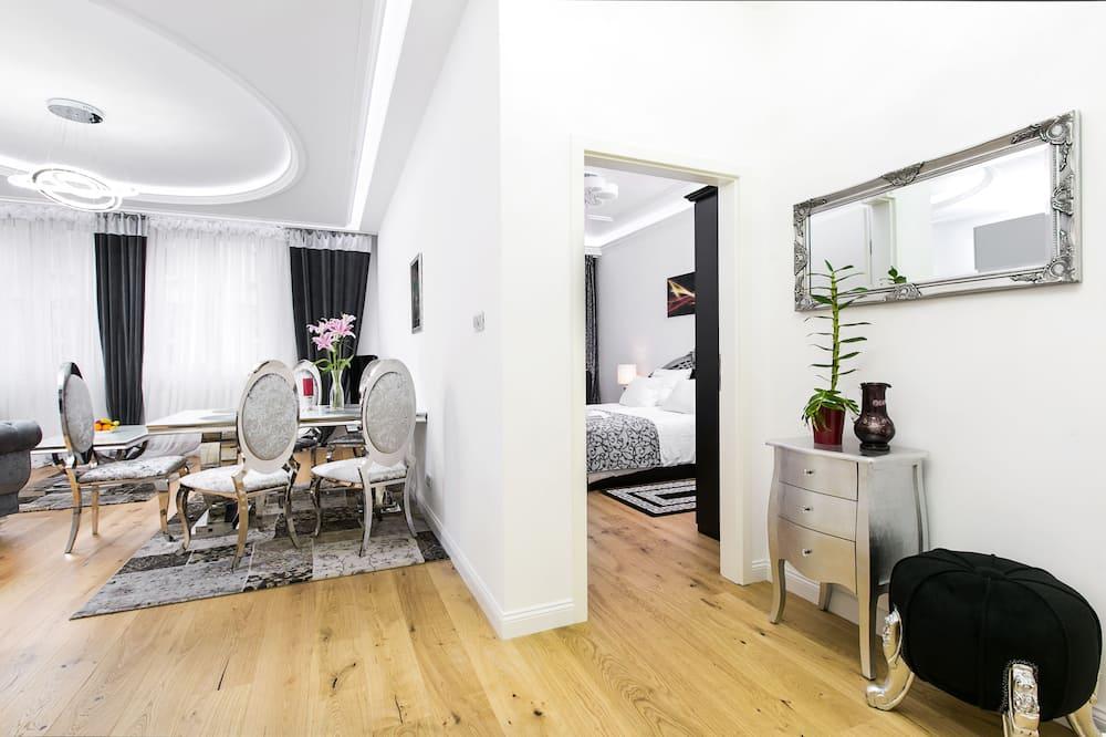 Deluxe-lejlighed - 2 soveværelser - Opholdsområde
