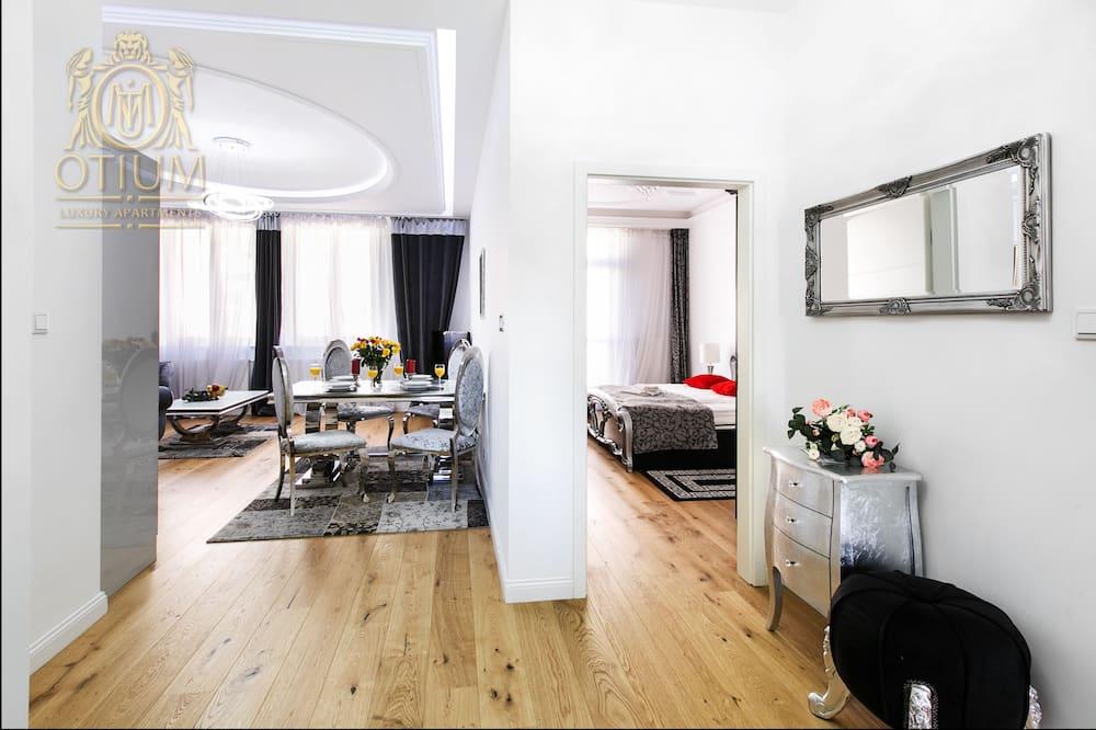 Deluxe-lejlighed - 2 soveværelser - Lobby