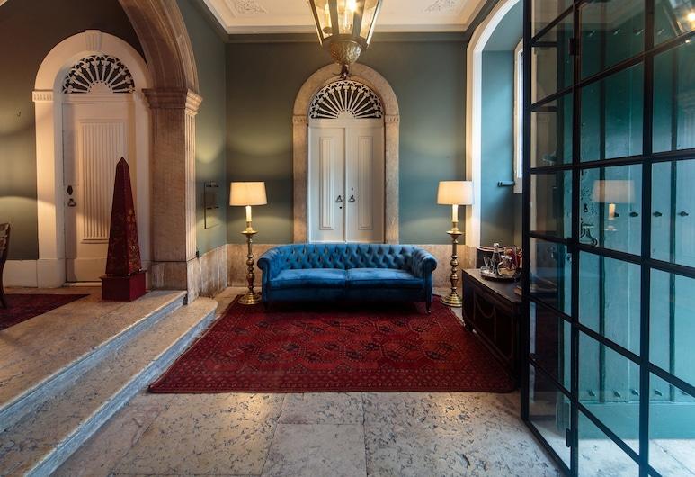 Dear Lisbon – Bordalo Palace Chiado, Lisbon, Interior Entrance