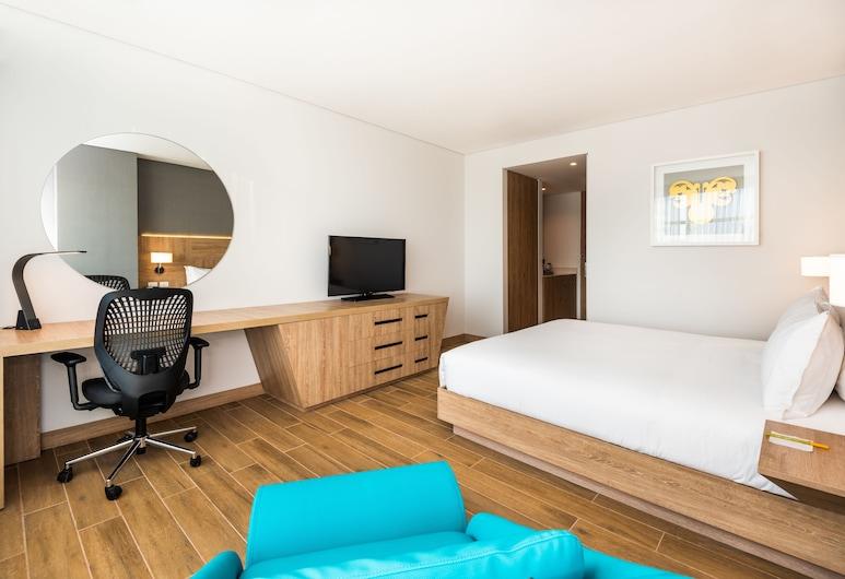 Hilton Garden Inn Santa Marta, Santa Marta, Quarto, 1 cama king-size, Acessível (Roll-In Shower), Quarto