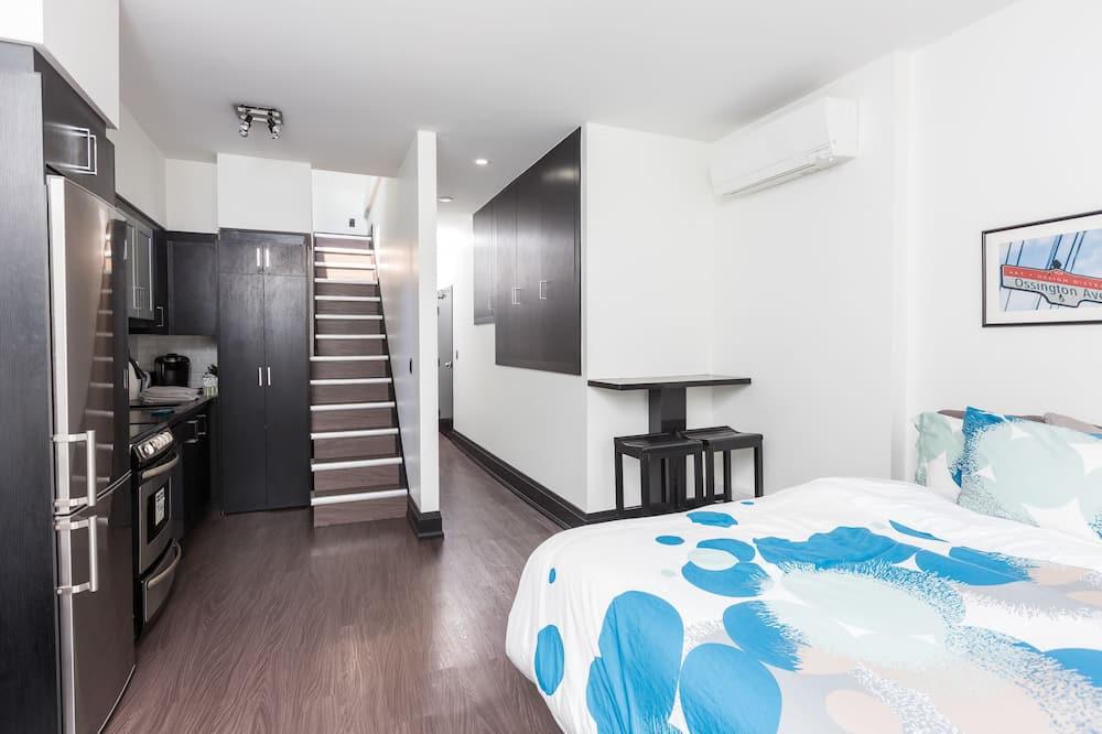 行政套房, 1 張特大雙人床和 1 張沙發床 - 客廳