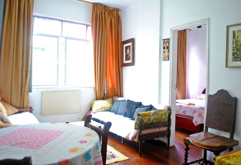連結之家經濟 3 房科帕卡巴納 C2-009 飯店, 里約熱內盧, 公寓 (C2-009), 客廳