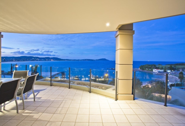 Star Of The Sea Luxury Apartments, Terrigal, Apartamento de lujo, 3 habitaciones, vistas al mar, Balcón