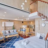 American Style Apartment - Two Bedrooms - Living Area