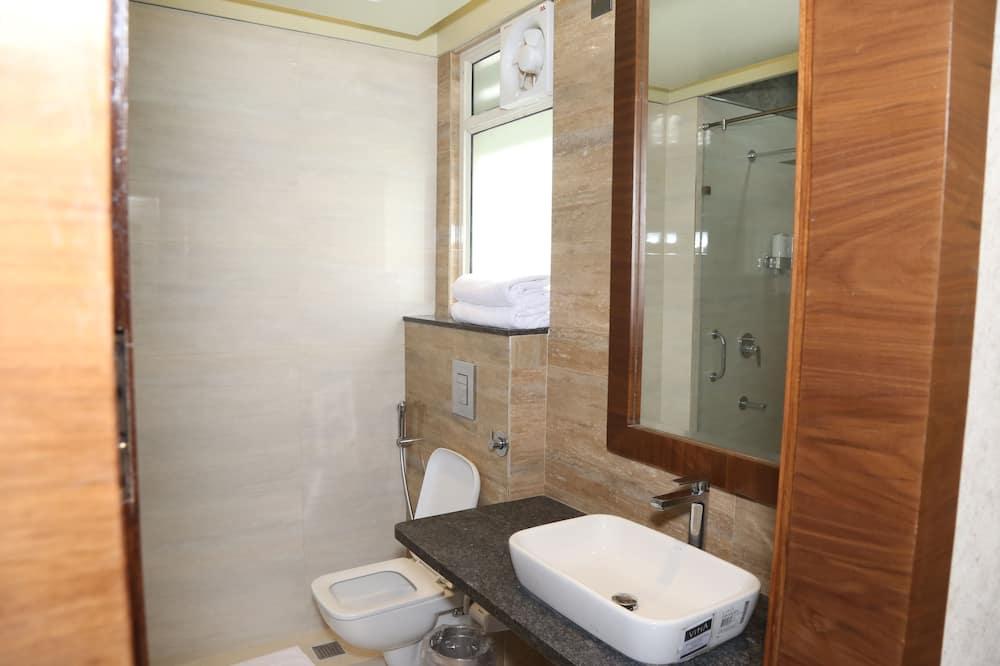 Design maisonnette, 1 tweepersoonsbed - Badkamer