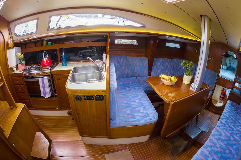 Casa Móvel (Boat) - Sala de Estar
