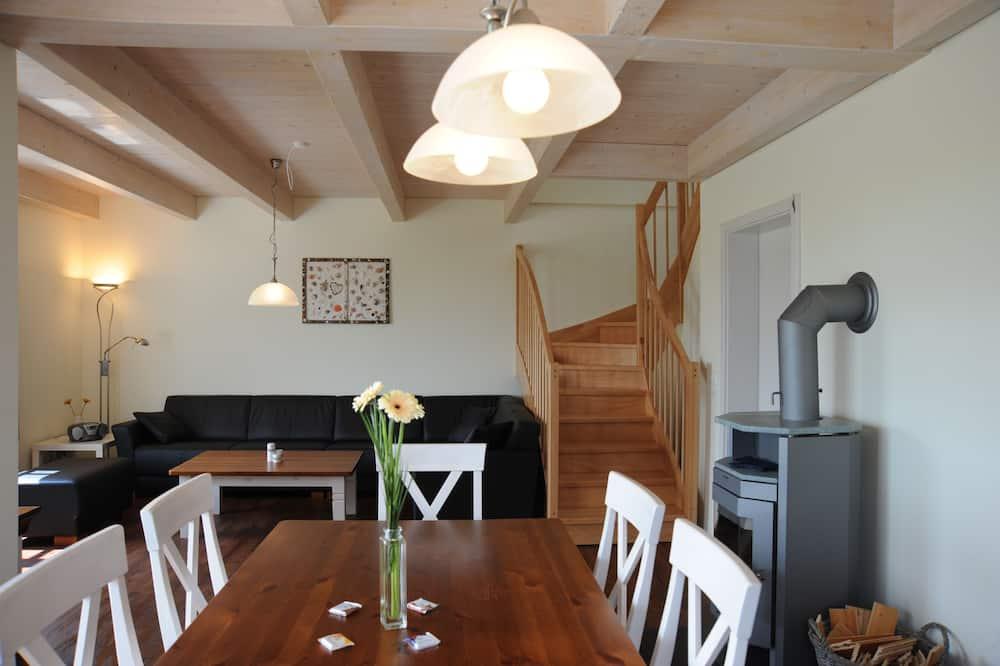 Casa de campo, 3 habitaciones, terraza, vista al jardín - Sala de estar
