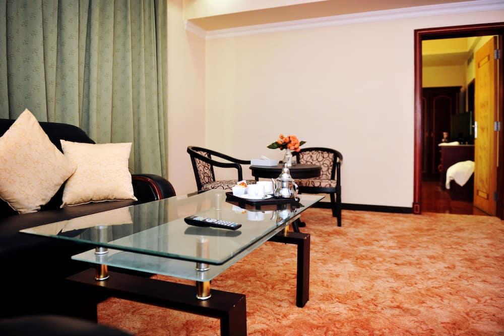 Suite familiar, 2 habitaciones - Sala de estar