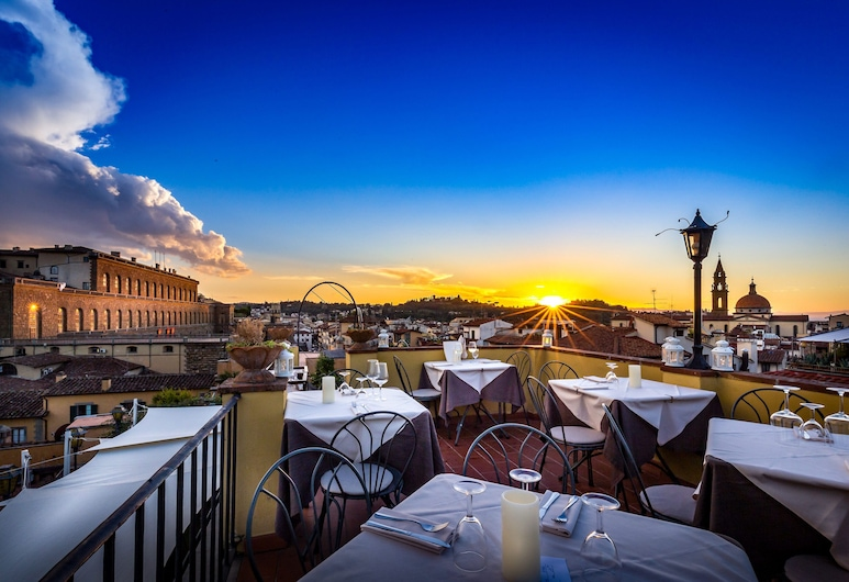 Residenza d'epoca La Scaletta, Florence, Terrasse/Patio