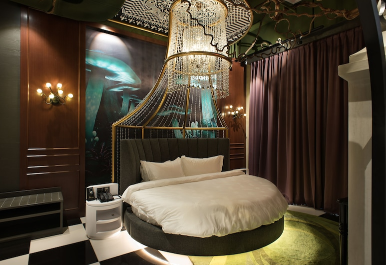 Vangohh Eminent Hotel & Spa, Bukit Mertajam, Kambarys (Alice In Wonderland), Svečių kambarys