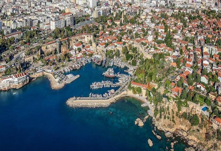 Kont Hostel, Antalya, Terrasse/Patio
