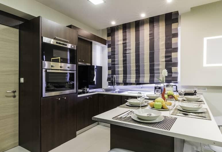 Rhodes Central Suite, Rodosz, apartman, 2 hálószobával, Privát konyha