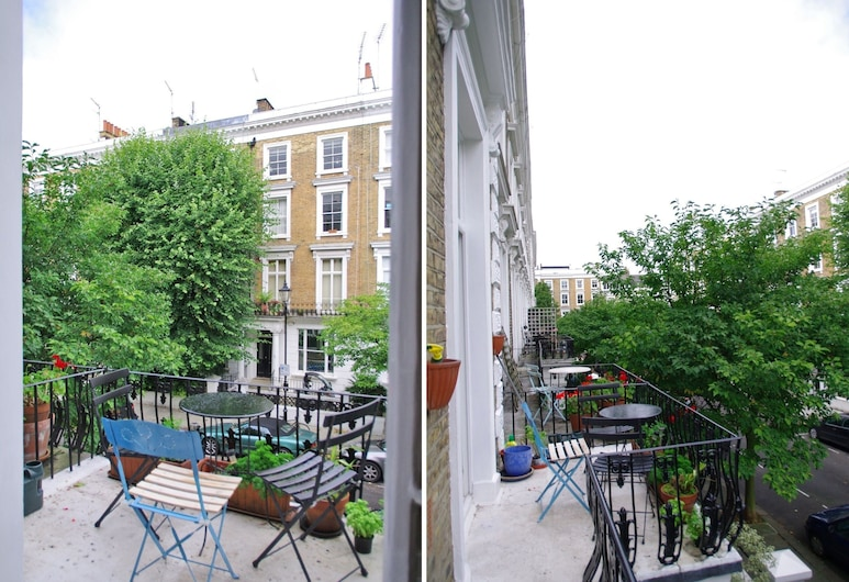 The London Agent Notting Hill Balcony, London, Apartment, 1 Schlafzimmer, Balkon