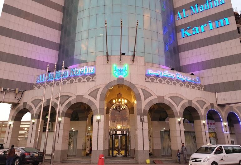 アル マディナ カリム ホテル, メディナ, ホテルのフロント
