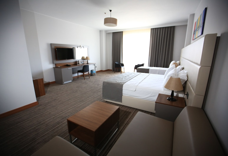 Familya Hotel, Erbaa, Chambre Standard avec lits jumeaux, Chambre