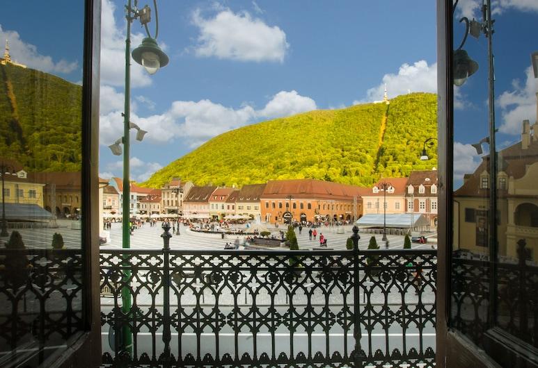 Safrano Palace, Brasov, Quarto Duplo Panorâmico, 1 cama queen-size, Vista Montanha, Vista do Quarto