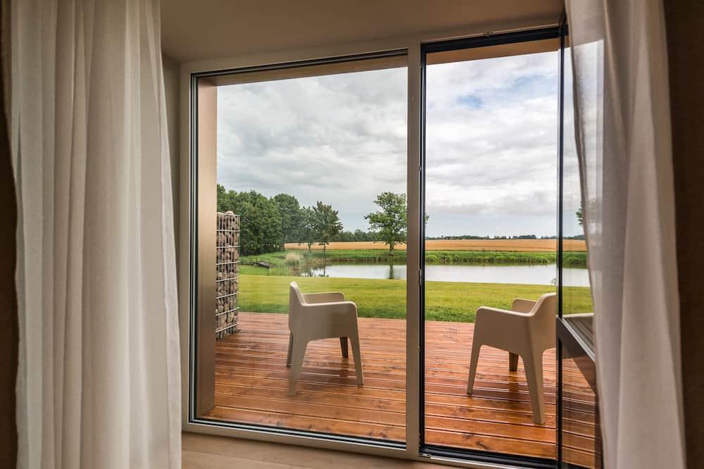 Kahden hengen huone, Terassi - Puutarhanäkymä