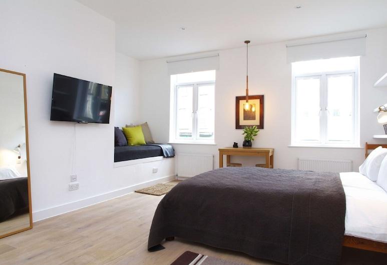 菲茨羅維亞開放式公寓 1 號倫敦探員酒店, 倫敦, 開放式客房, 客廳