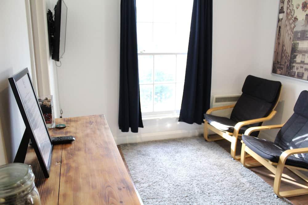 Apartmán typu Comfort, výhľad na mesto (Modern and Comfy Apartment) - Obývacie priestory