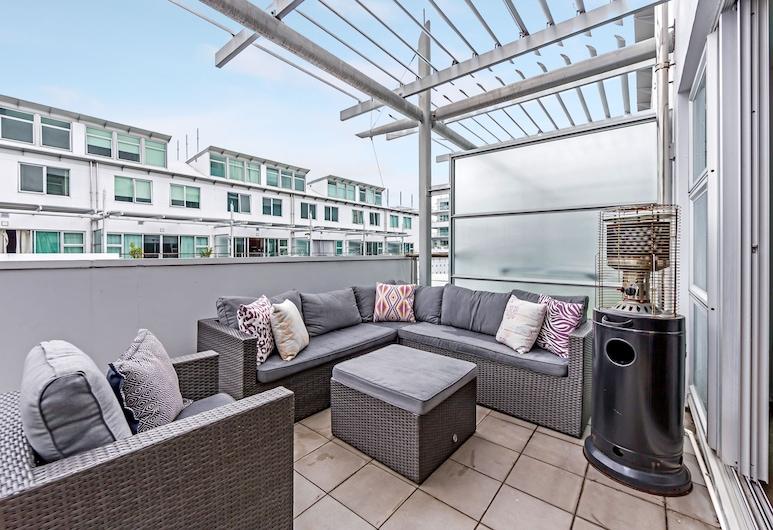 Premium 1BR Apartment at Princes Wharf, Auckland, Lejlighed - 1 soveværelse, Terrasse/patio