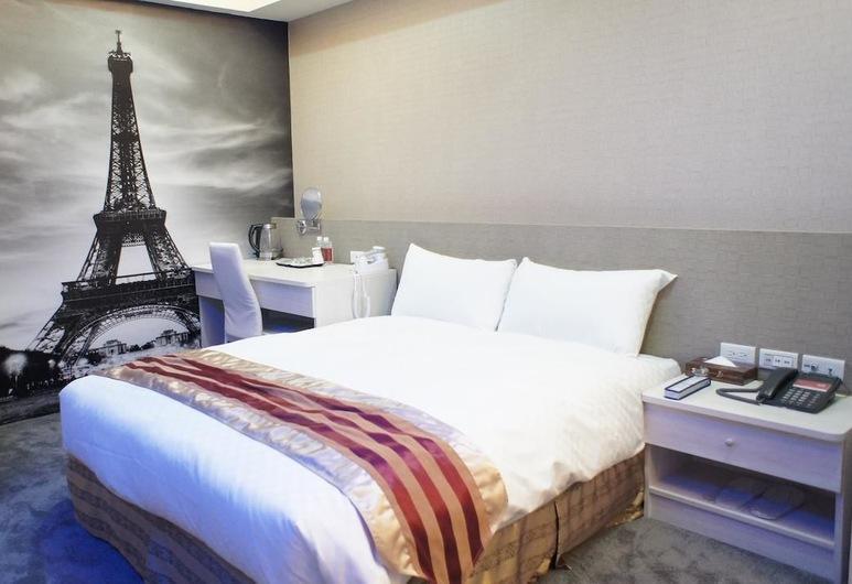 Win Inn Chiayi Hotel II, Chiayi Şehri, Standard Tek Büyük Yataklı Oda, 1 Çift Kişilik Yatak, Penceresiz, Oda