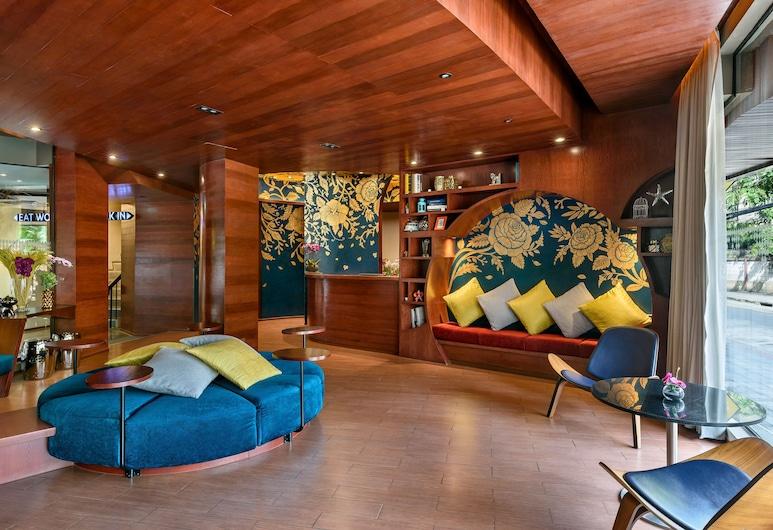 ホテル ベラ ビー バンコク ラチャテーウィー, バンコク, ロビー応接スペース