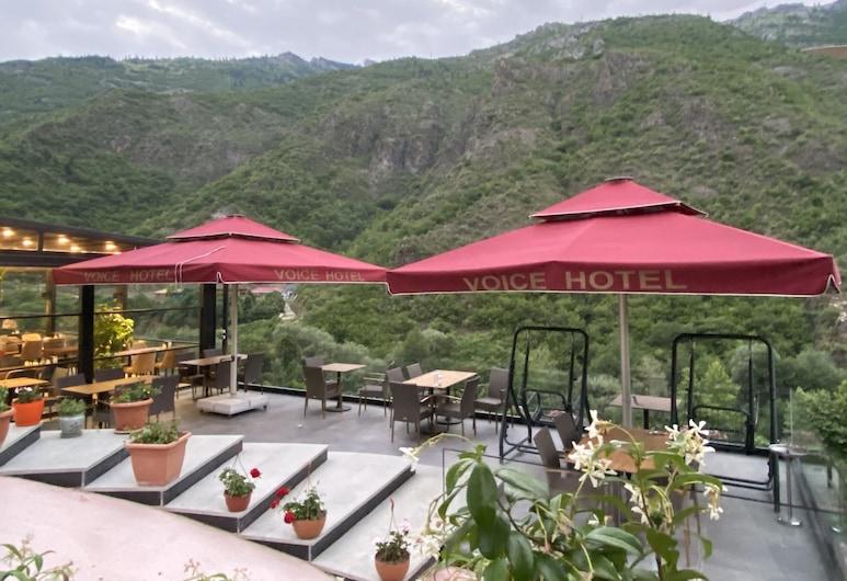 Voice Hotel, Macka, Outdoor Dining