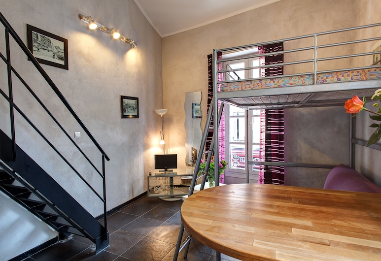 Duplex des 13 Cantons, Marseille, Duplex, 2 Bedrooms, Living Area