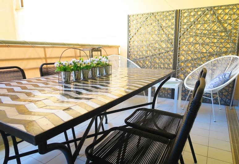 """Palais Méditerranée Terrasse"" by Nestor&Jeeves, Nizza, Premium-Apartment, 2Schlafzimmer, Nichtraucher, Concierge-Service, Balkon"