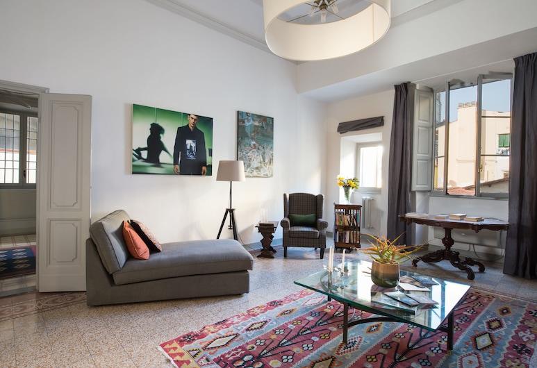 Asso's Place, Florence, Appartement, 2 chambres, Salle de séjour
