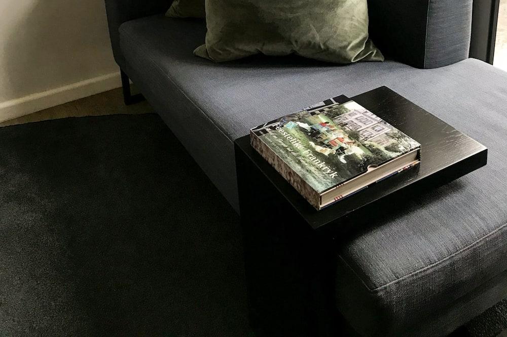 Luksus-lejlighed - 1 queensize-seng - byudsigt - Opholdsområde