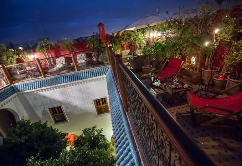 Riad Asrari - Adults Only, Marrakech, Terassi/patio