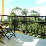 Dubbelrum - 1 kingsize-säng - balkong - Balkong